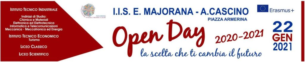 Open day 2020-2021