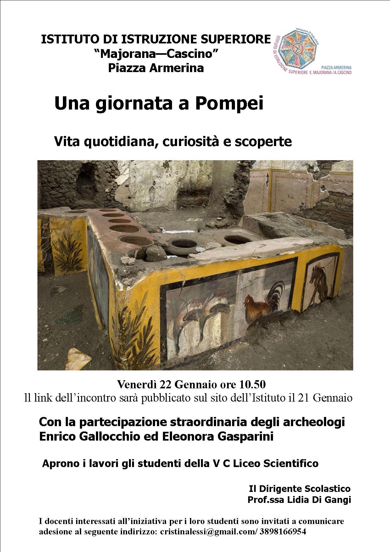 giornata pompei
